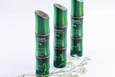 Recenzja żelu bambusowego Bamboo Soothing Gel Beauty Kei