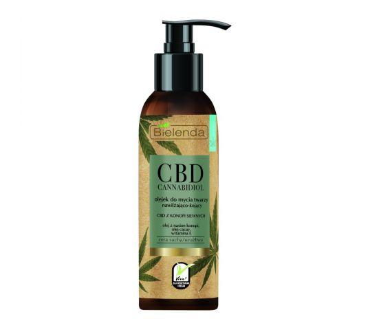 Bielenda CBD Cannabidiol Olejek do mycia twarzy nawilżająco-kojący 140 ml