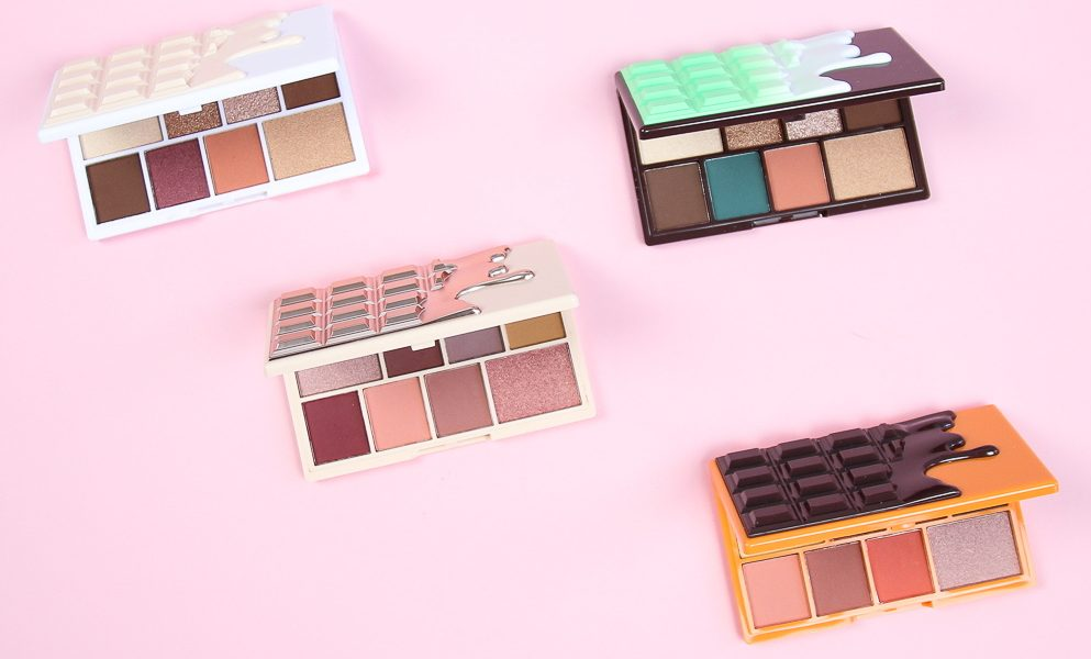 Jesienny makijaż z czekoladową paletą od Makeup Revolution