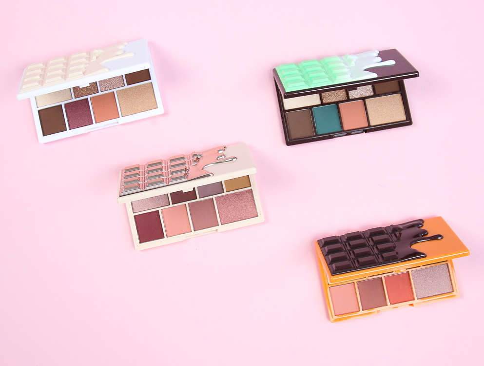 Czekoladowe palety cieni Makeup Revolution w drogerii horex.pl