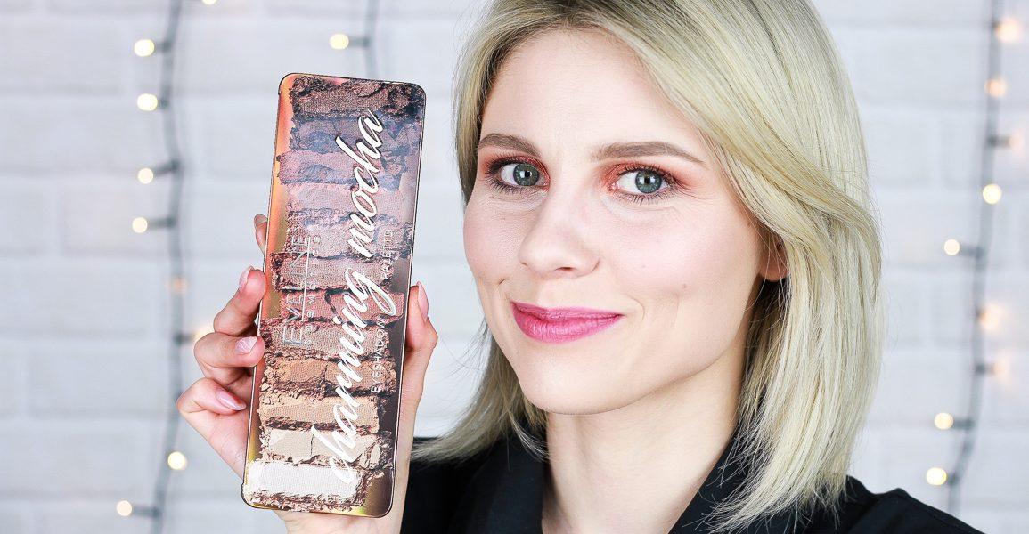 Eveline paleta cieni Charming Mocha – makijaż z drogerią horex.pl (video)