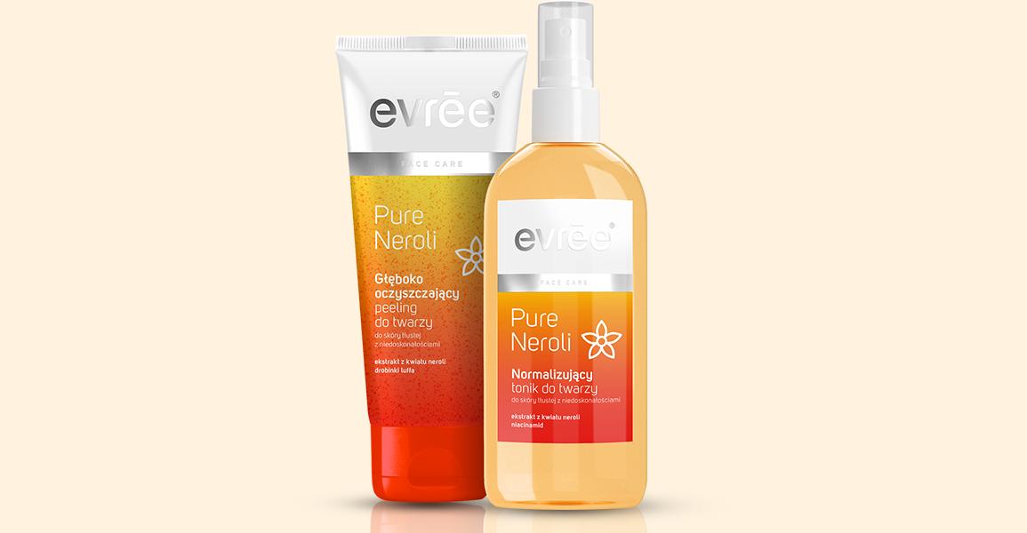 Kosmetyki Evree Pure Neroli – pielęgnacja twarzy z nutą egzotyki