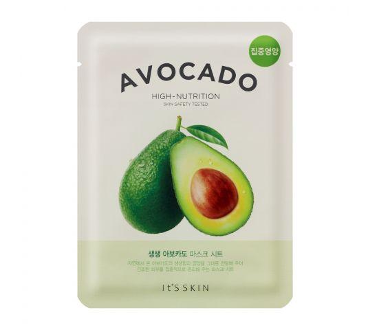 It's Skin The Fresh Mask Sheet Avocado maska do twarzy z wyciągiem z awokado 20 ml