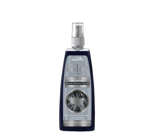 Joanna Ultra Color System płukanka do włosów srebrna w sprayu 150 ml w drogerii horex.pl