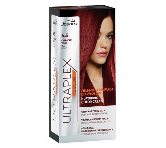 Joanna Ultraplex Color farba do włosów pielęgnacyjna nr 6.5 czerwone wino 100 ml w drogerii horex.pl