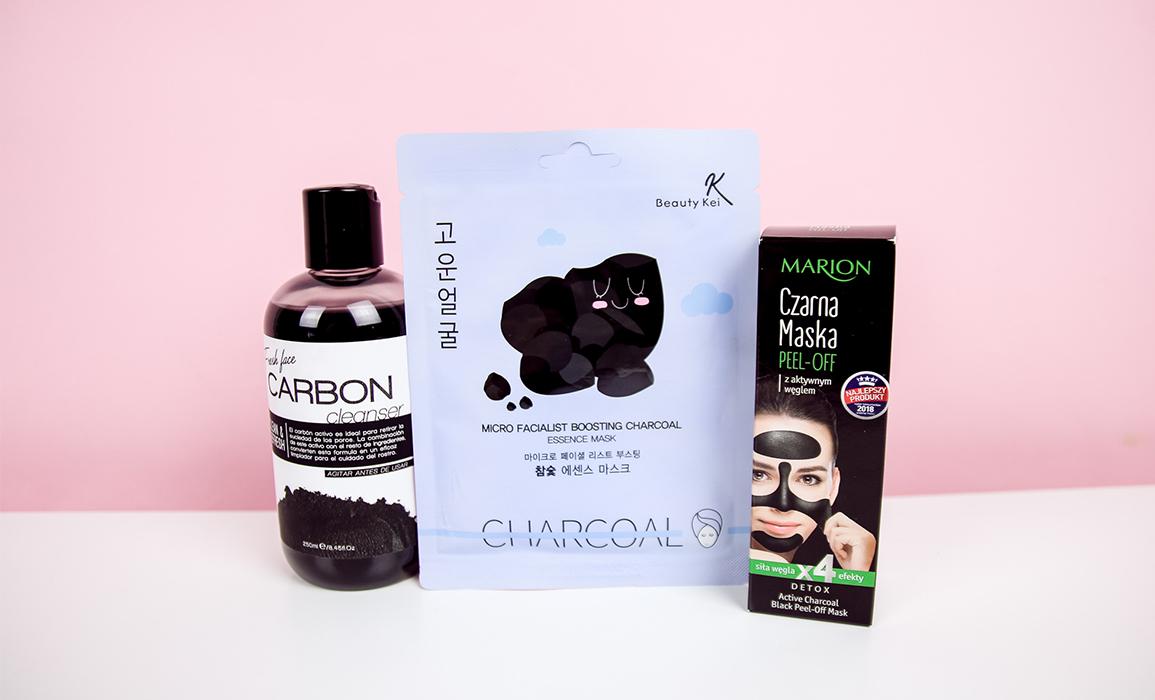 Kosmetyki z węglem aktywnym