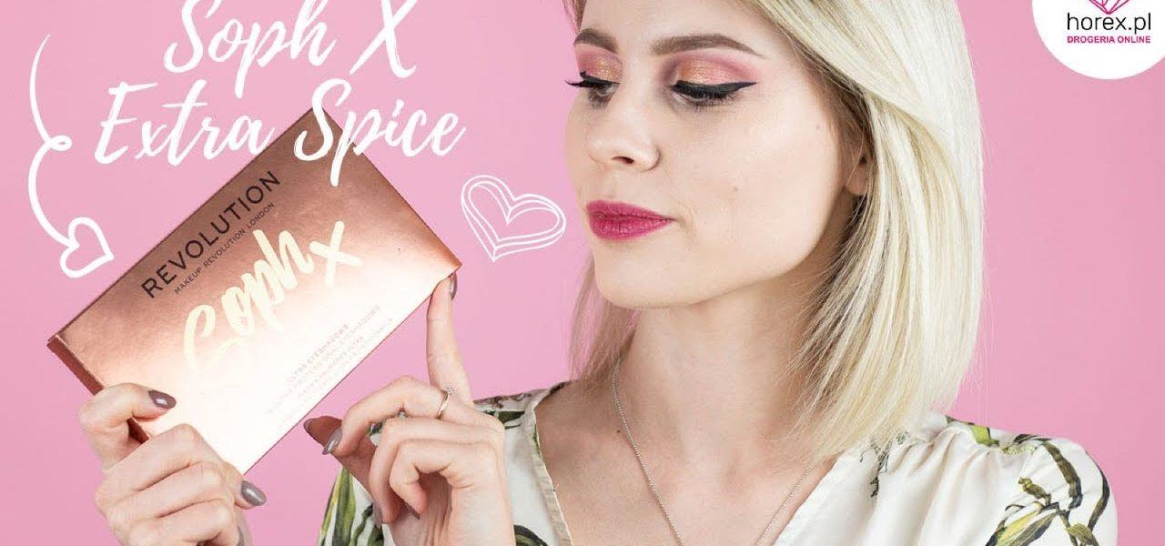 Makeup Revolution Soph X Extra Spice paleta cieni do powiek