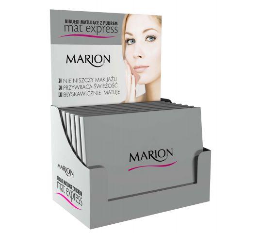Marion Bibułki matujące z pudrem do twarzy Zestaw 4szt+1 gratis w drogerii horex.pl