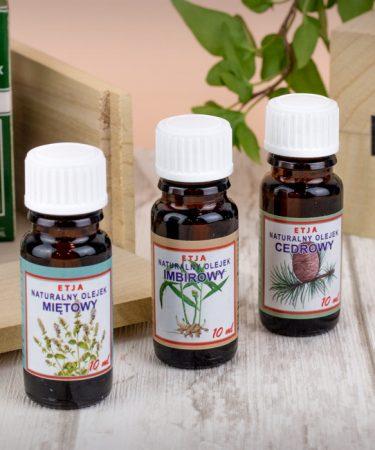 Olejki eteryczne - aromaterapia w domu