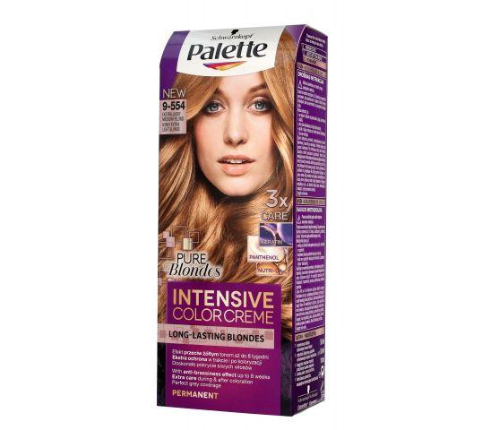 Palette Intensive Color Creme krem koloryzujący nr 9-554 Ekstra Jasny Miodowy Blond 1 op. w drogerii horex.pl