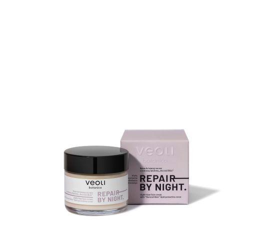 Veoli Botanica Repair By Night Cream – krem do twarzy z ochroną lipidową na noc (60 ml)