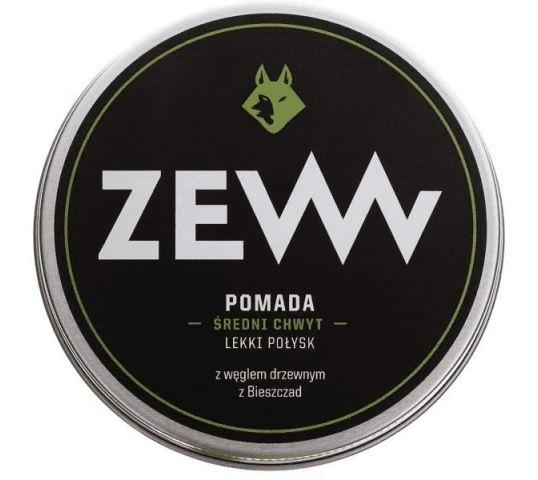 Zew For Men pomada do włosów z węglem drzewnym z Bieszczad 100 ml
