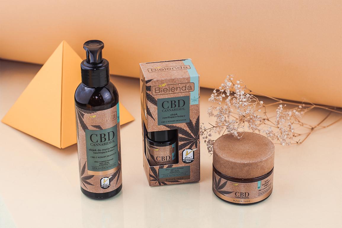 bielenda kosmetyki do pielęgnacji-skóry z cbd