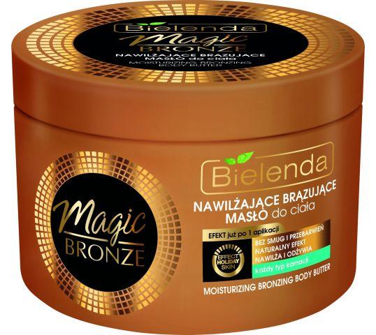 Bielenda Magic Bronze Nawilżające brązujące masło do ciała 200 ml