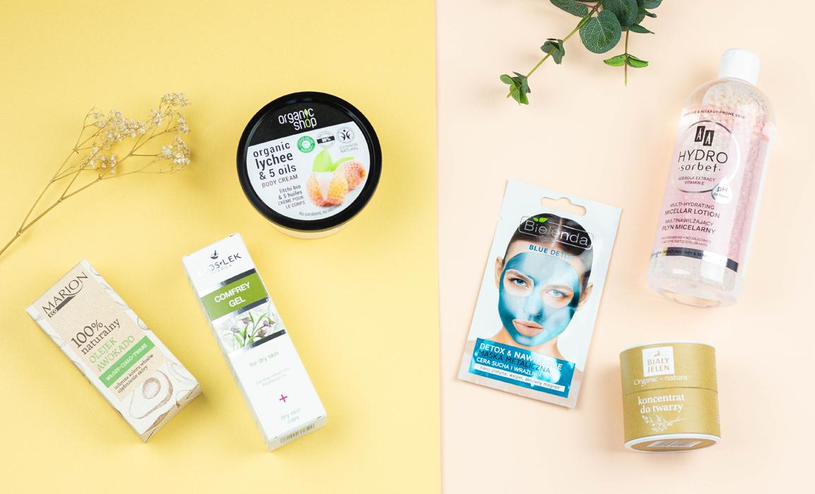 kosmetyki do pielęgnacji skóry suchej