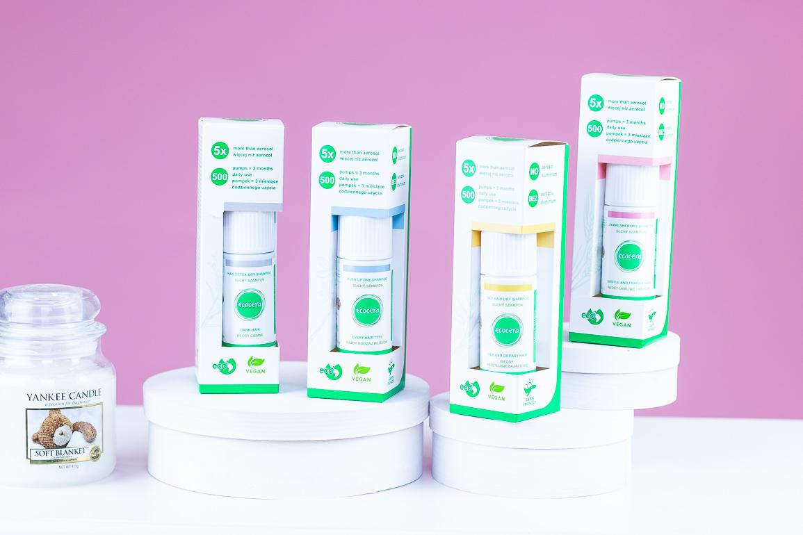ecocera wegańskie suche szampony bez aerozolu