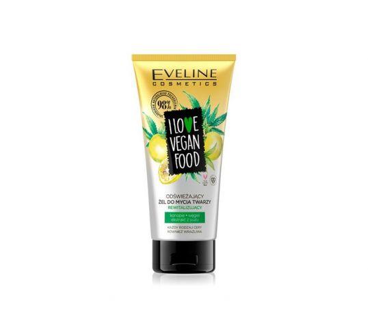 Eveline i love vegan food żel do mycia twarzy 150 ml