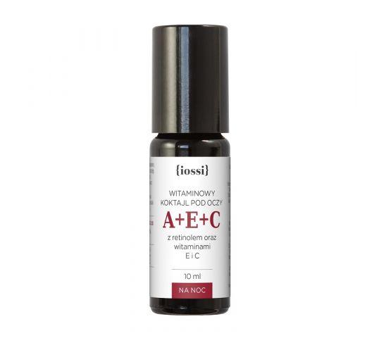 iossi – A+E+C witaminowy koktajl pod oczy z retinolem oraz witaminami E i C (10 ml)