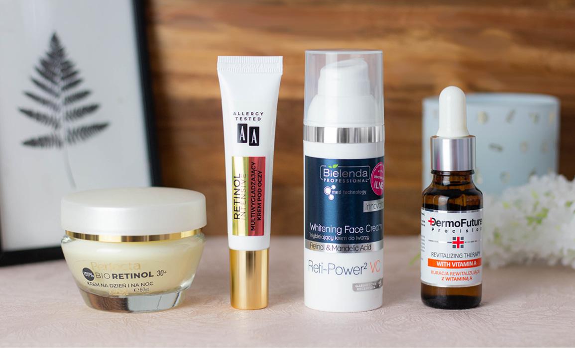 kosmetyki z retinolem