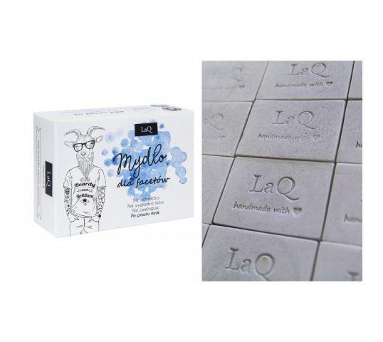 LaQ mydło glicerynowe z aktywnym węglem dla facetów 85 ml