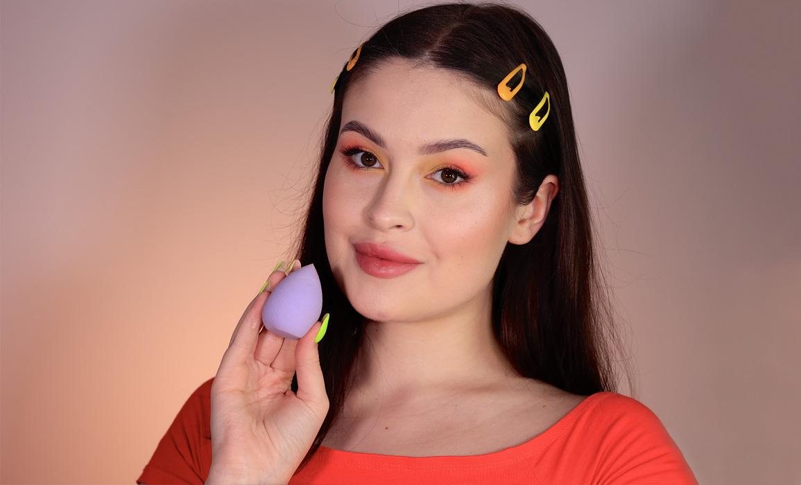 makijaż gąbeczką