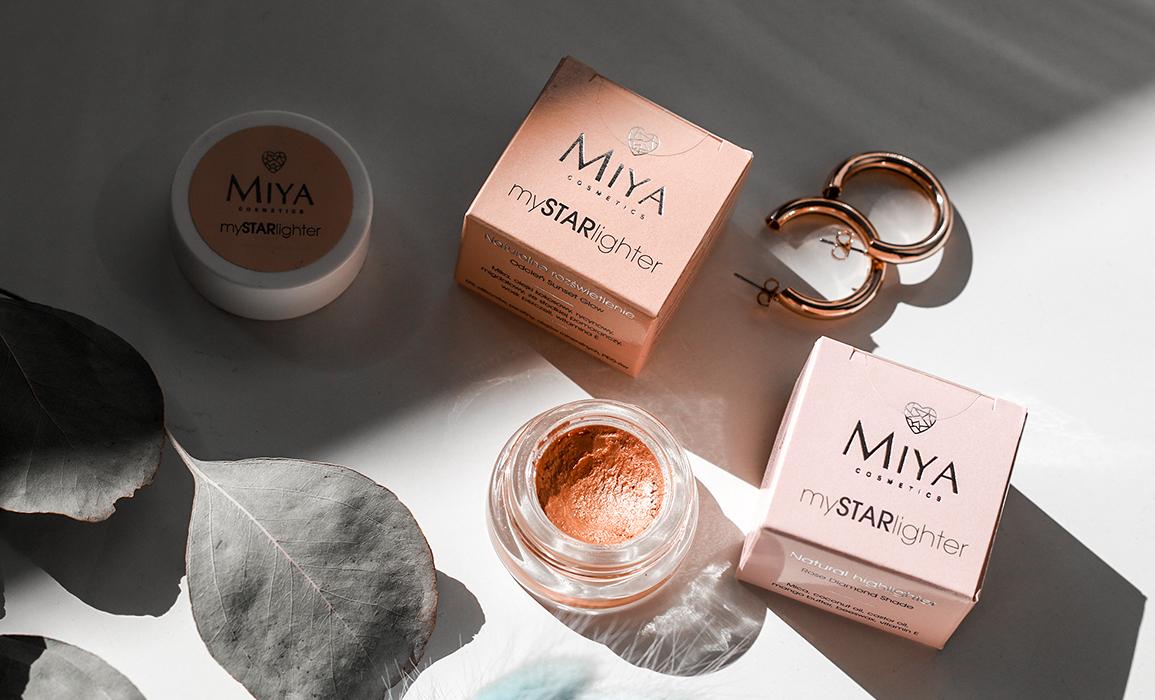 Miya Cosmetics rozświetlacze w kremie