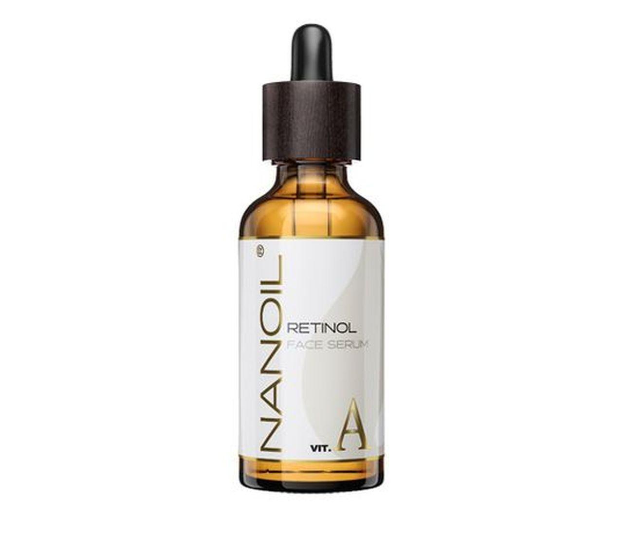 Nanoil Retinol Vitamin A serum do twarzy z retinolem i witaminą A (50 ml)