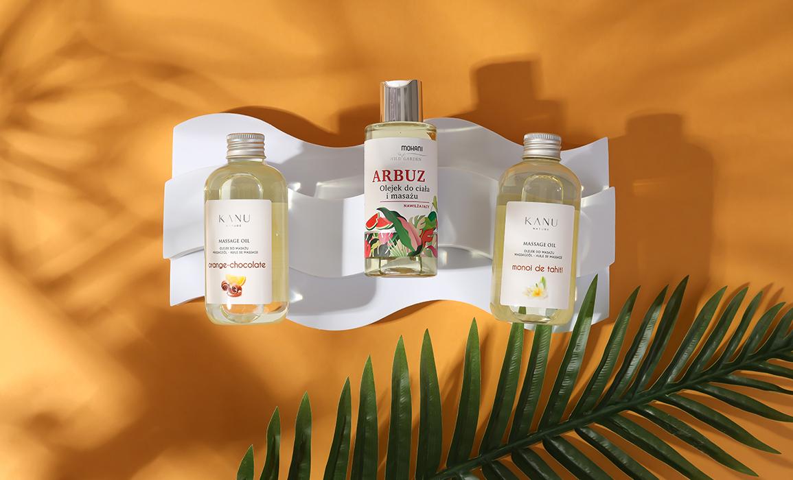 naturalne olejki od masażu