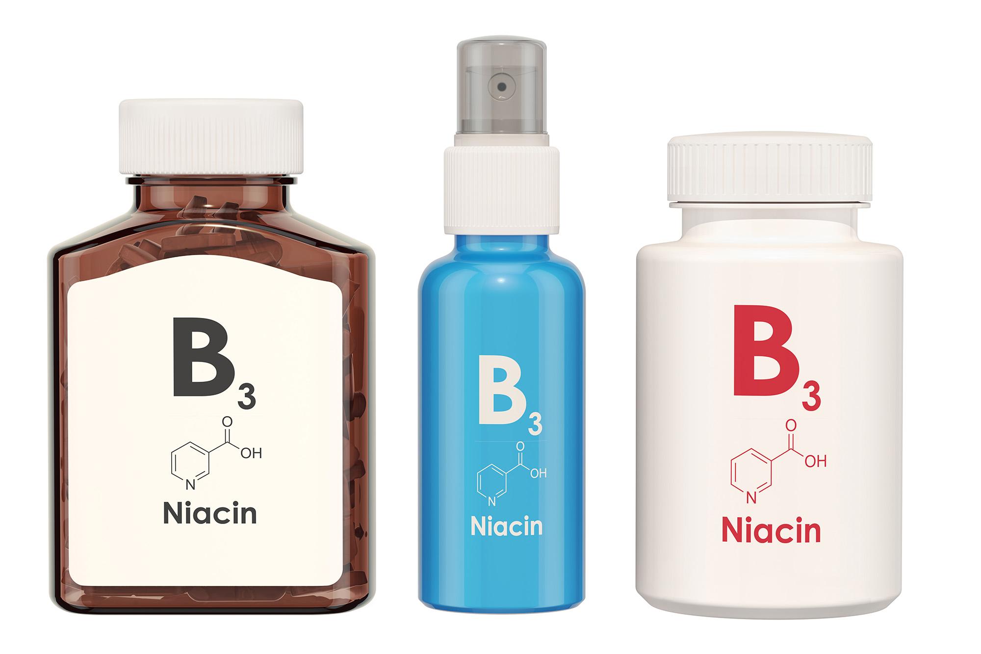 Niacynamid witamina B3 niacyna