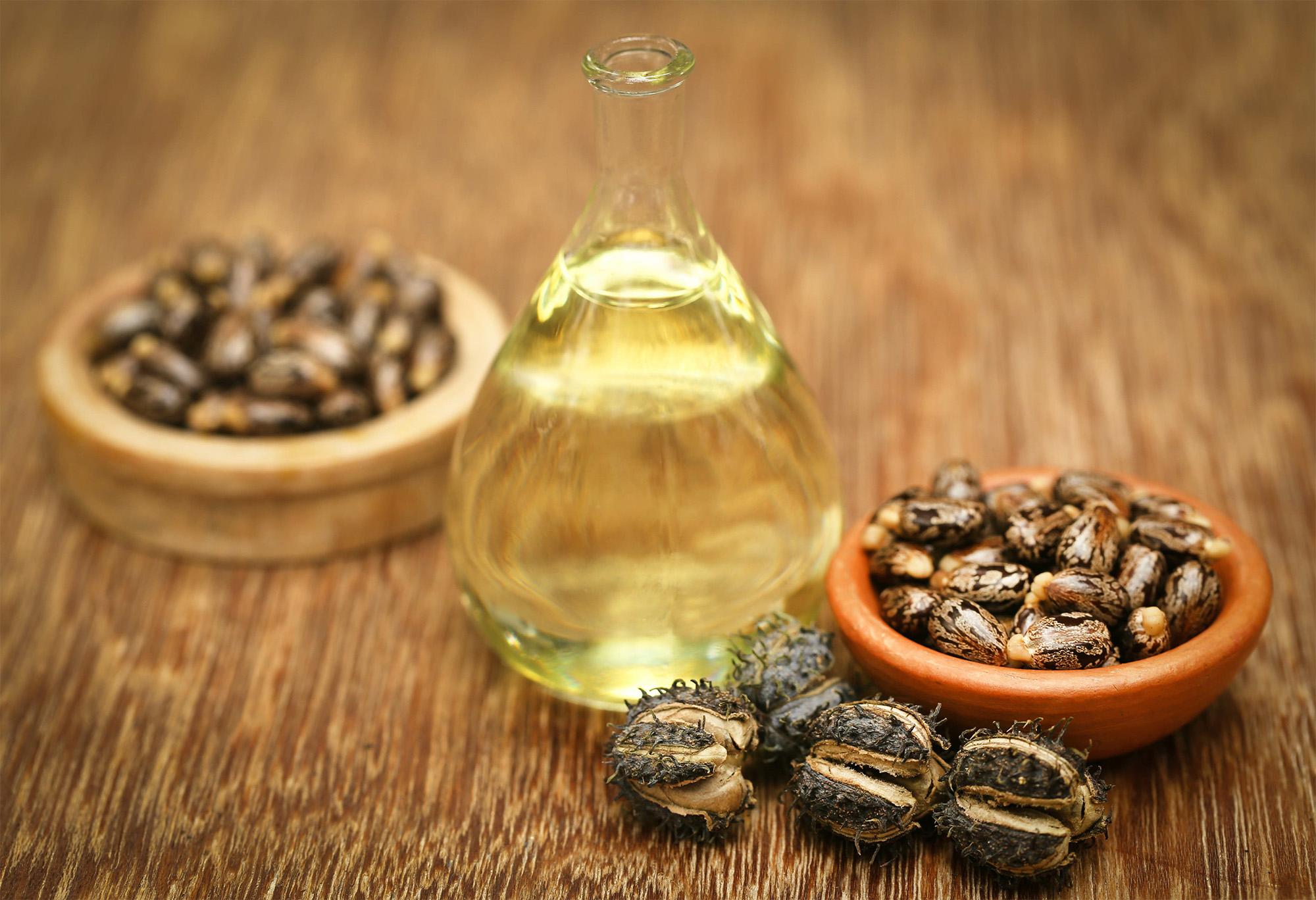 olej rycynowy bazowy w metodzie OCM