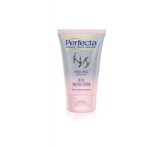 Perfecta peeling węglowy do twarzy Detox i Zwężenie Porów 120 g