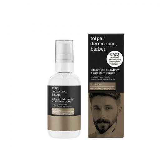 tołpa dermo men barber balsam żel do twarzy z zarostem i brodą 75 ml
