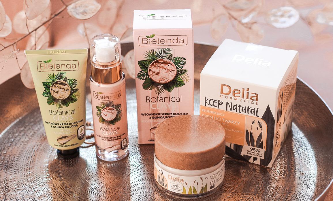 wegańskie kosmetyki Bielenda i Delia