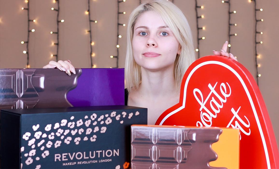zestawy prezentowe makeup revolution video recenzja