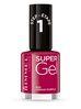 Rimmel Super Gel żelowy lakier do paznokci 025 Urban Purple 12ml