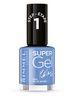 Rimmel Super Gel żelowy lakier do paznokci 052 Blue Babe 12ml
