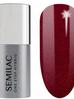 Semilac One Step lakier hybrydowy S590 Glitter Red (5 ml)