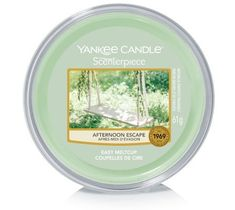 Yankee Candle – Scenterpiece Easy Melt Cup wosk do elektrycznego kominka Afternoon Escape (61 g)