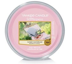 Yankee Candle – Scenterpiece Easy Melt Cup wosk do elektrycznego kominka Sunny Daydream (61 g)