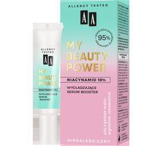 AA My Beauty Power Niacynamid 10% wygładzające serum-booster (15 ml)