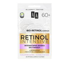 AA Retinol intensywna maska ujędrnienie+redukcja zmarszczek (5 ml)