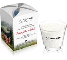Allvernum Home & Essences świeca zapachowa Rajskie Jabłko z Podhala170 g