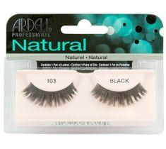 Ardell Rzęsy i akcesoria Natural 103 1 para sztucznych rzęs Black