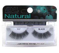 Ardell Rzęsy i akcesoria Natural 117 1 para sztucznych rzęs Black