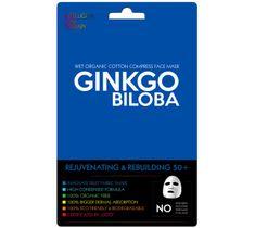 Beauty Face Ginkgo Biloba nawilżająca maska w płacie do cery normalnej i mieszanej