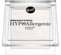 Bell Hypoallergenic Puder do twarzy utrwalający makijaż Fixing Mat nr 01 9 g