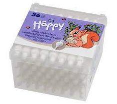 Bella Baby Happy Patyczki higieniczne dla dzieci (56 szt.)