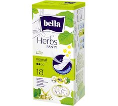 Bella Herbs Panty Wkładki higieniczne Tilia - z Kwiatem Lipy - normal (1op. - 18 szt.)