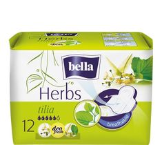Bella Herbs Tilia Podpaski deo fresh z Lipą  (1op. - 12 szt)