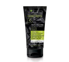 Bielenda Carbo Detox Pasta węglowa do mycia twarzy 3w1 150 g